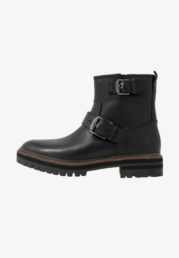 LONDON SQUARE - Cowboy/biker ankle boot - black