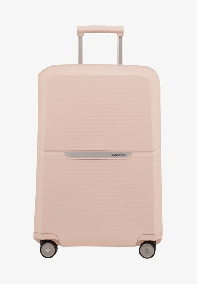 MAGNUM - Wheeled suitcase - soft rose