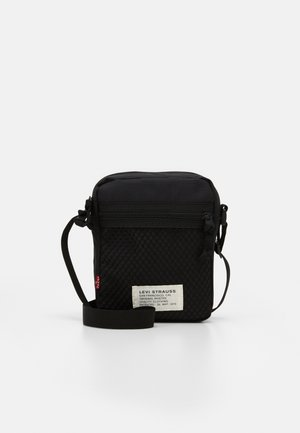 L SERIES  X-BODY UNISEX - Across body bag - regular black