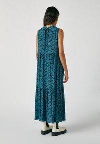 PULL&BEAR - Maxi šaty - blue - 2