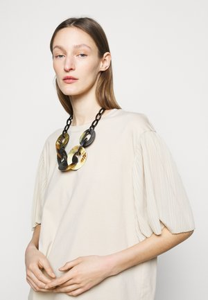 TESORO - Necklace - brown