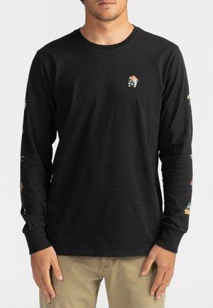 HOT SPRINGS  - Long sleeved top - black