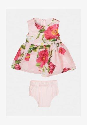 SET - Cocktail dress / Party dress - bloemmotief