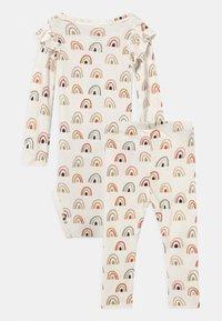 Name it - NBFDAOMI SET - Leggings - Trousers - snow white - 1