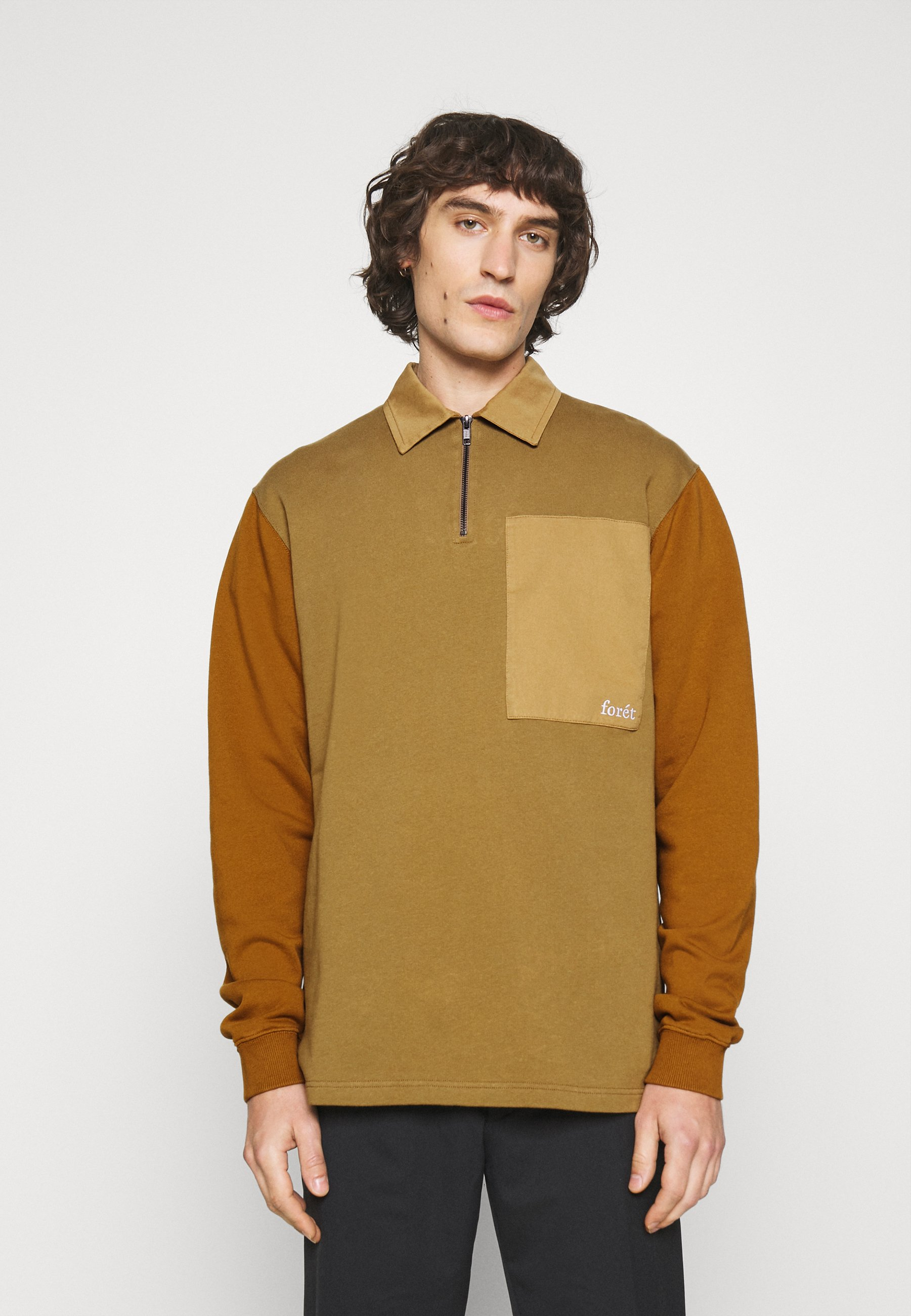 Men RATTLE HALF ZIP - Sweatshirt