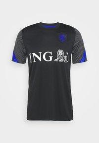 NIEDERLANDE KNVB  - Equipación de selecciones - black/bright blue