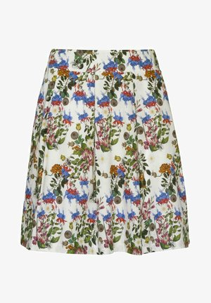 WIESEN - A-line skirt - weiß