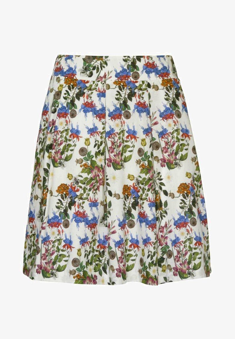 H.Moser - WIESEN - A-line skirt - weiß