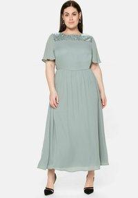 Sheego - Maxi dress - eukalyptus - 1