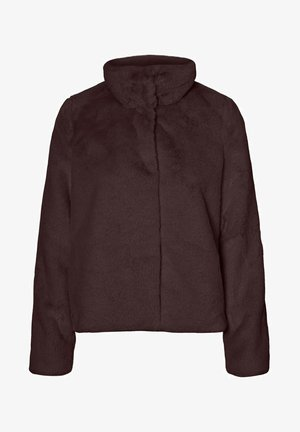 Winter jacket - chocolate plum