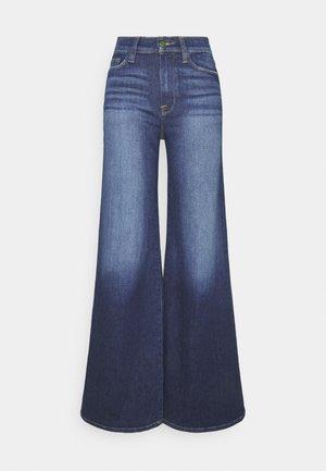 LE PALAZZO PANT - Jeans a zampa - dark blue