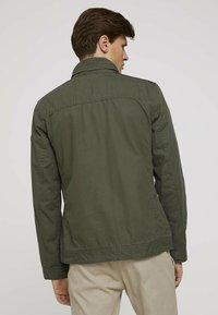 TOM TAILOR - BIKER - Light jacket - olive night green - 2