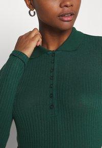 Monki - SIBYLLA - Polo shirt - dark green - 5
