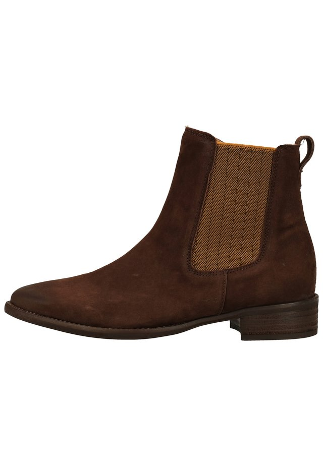 Bottines - mocca (curry)