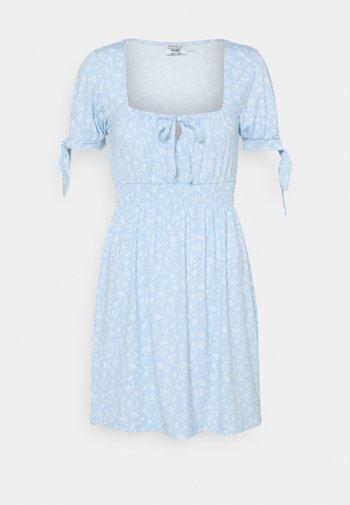 PAMELA REIF X ZALANDO RUCHED DETAIL MINI DRESS