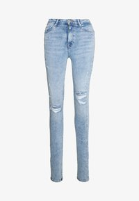 ONLY - ONLPAOLA DESTROY  - Jeans Skinny Fit - light blue denim - 3
