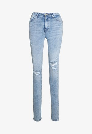 ONLPAOLA DESTROY  - Skinny džíny - light blue denim