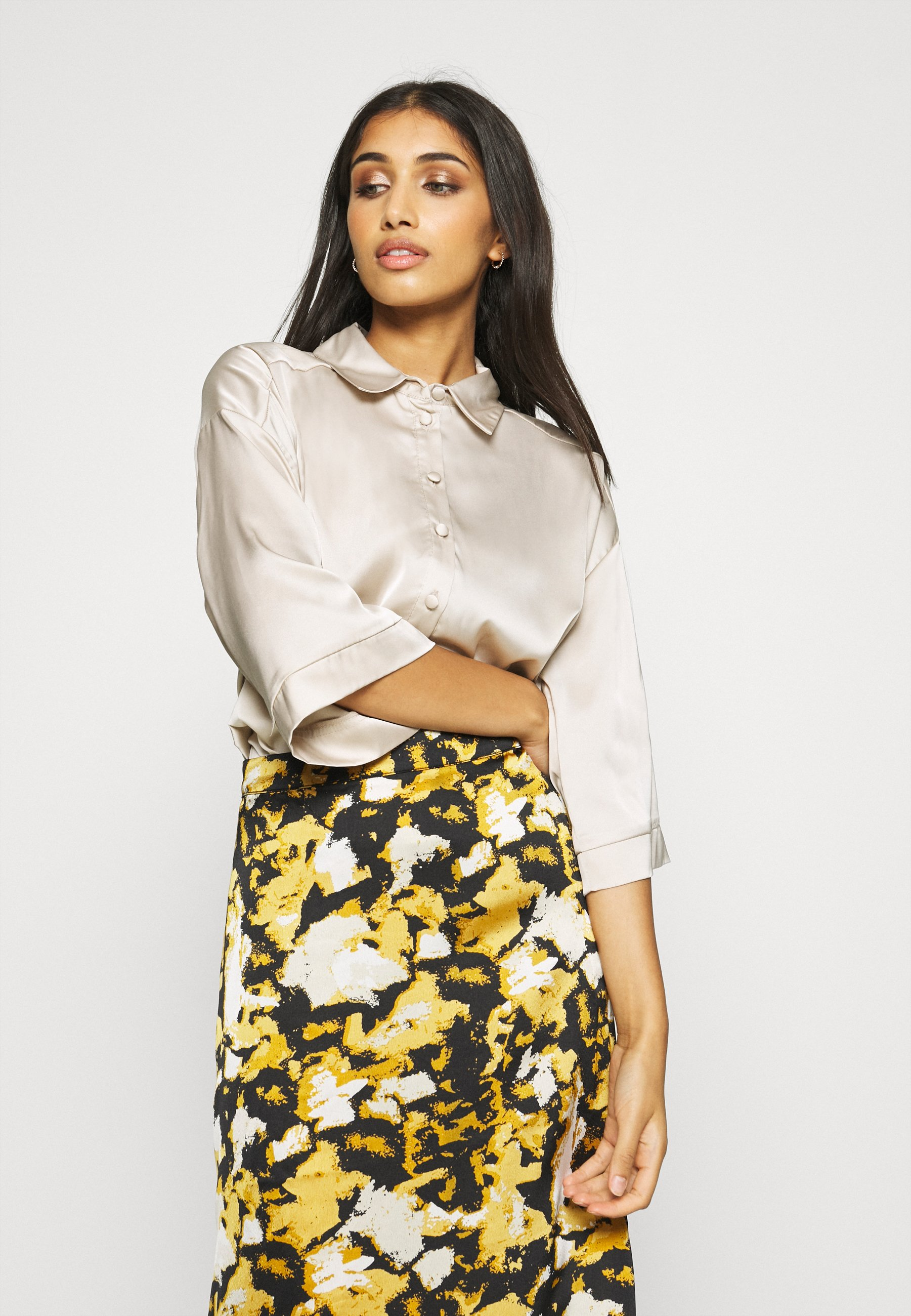 Women LUXE LOUNGE BOXY - Button-down blouse