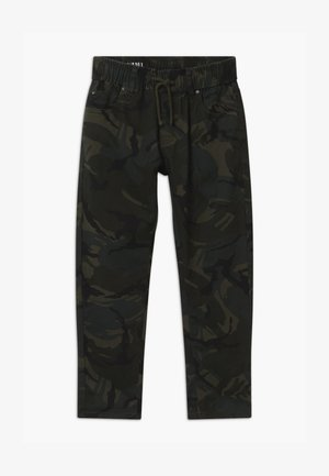 PULL UP 3301 - Trousers - khaki