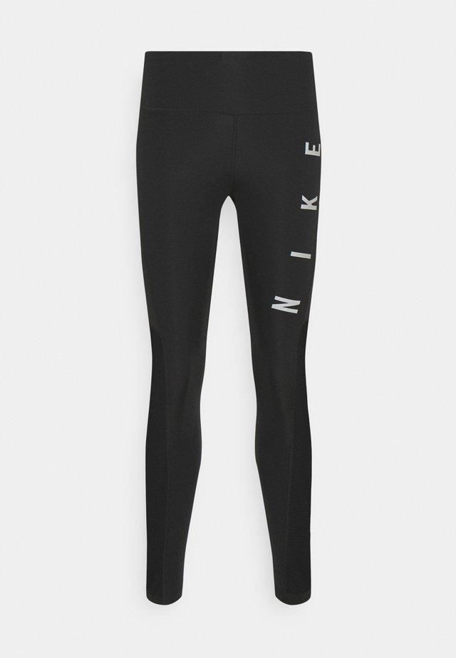 RUN EPIC FAST - Legging - black/reflective silver