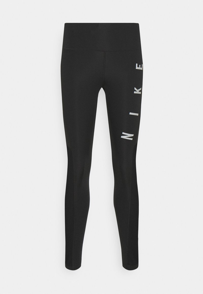 Nike Performance - RUN EPIC FAST - Tights - black/reflective silver