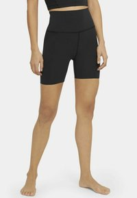 Nike Performance - YOGA LUXE SHORT - Leggings - black/dark smoke grey - 5