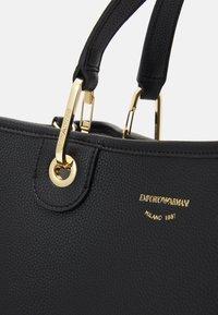 Emporio Armani - CAPSULE MYEABORSA SET - Handbag - nero/silver-coloured - 4
