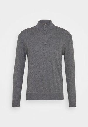 ZIP - Stickad tröja - light grey