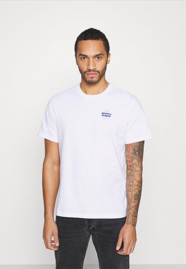 TEE UNISEX - Camiseta estampada - white