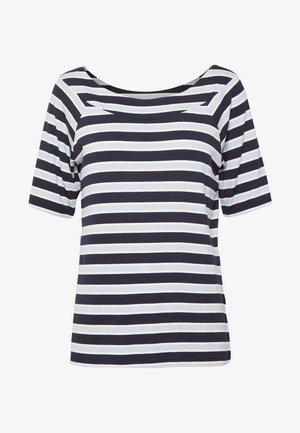 1/2 SLEEVE - T-shirt imprimé - sky blue/multicolor