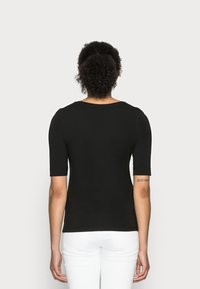 Opus - SANIKA  - T-shirt - bas - black - 2