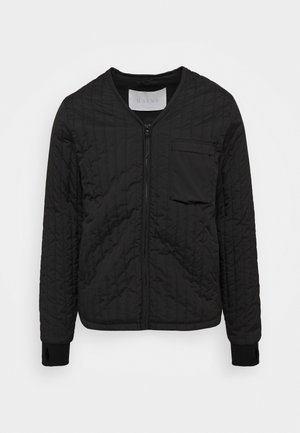UNISEX LINER JACKET - Light jacket - black