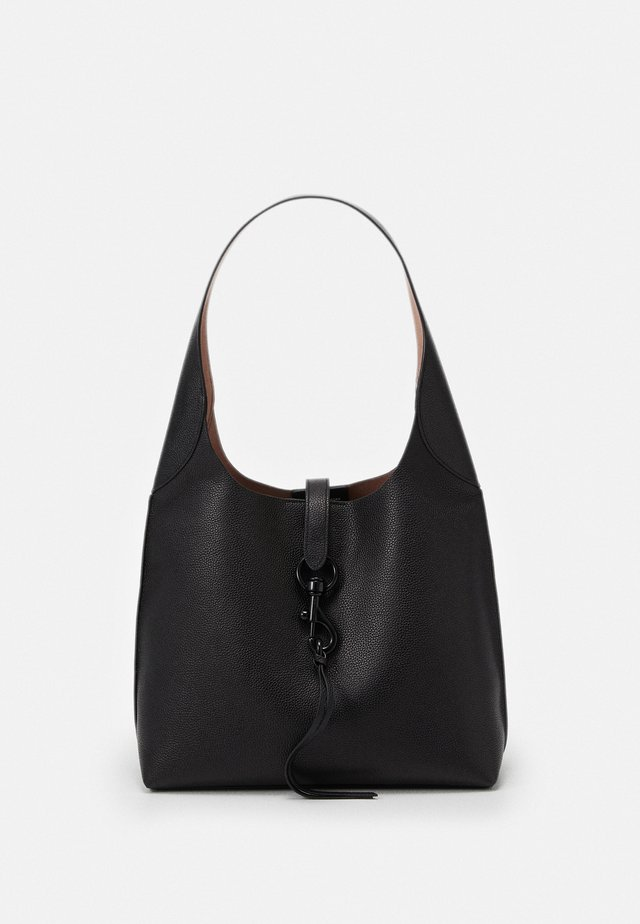 MEGAN HOBO - Handväska - black