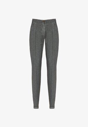 Trousers - grigio melange
