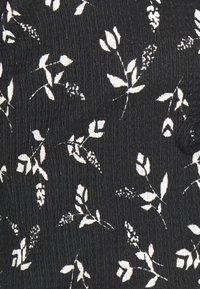 Miss Selfridge Petite - FLORAL CARDIGAN - Cardigan - black - 2