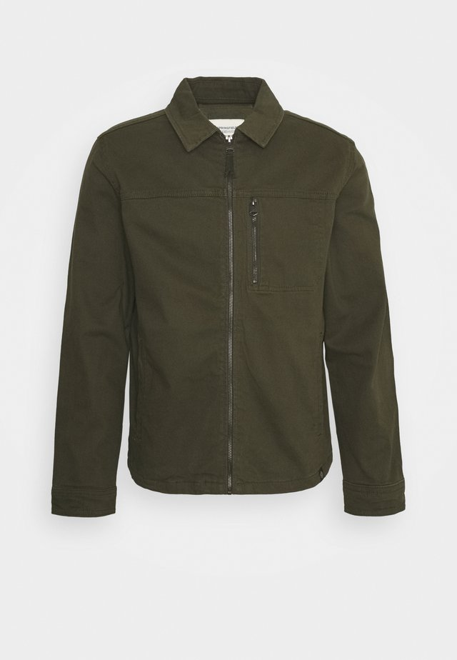 SOBRECAMISA - Summer jacket - dark khaki