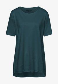 Green Cotton - MIT RUNDHALSAUSSCHNITT - T-shirt basic - dunkelgrün - 0