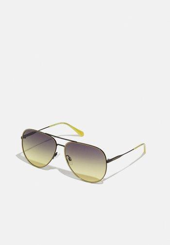 UNISEX - Sunglasses - black/sun