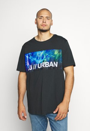 JCOANTHEM TEE CREW NECK - T-shirts print - pirate black
