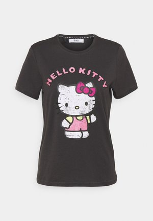 ONLHELLO RAINBOW  - Print T-shirt - phantom