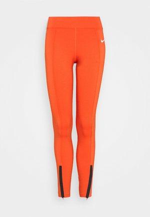 Leggings - Trousers - mantra orange/white