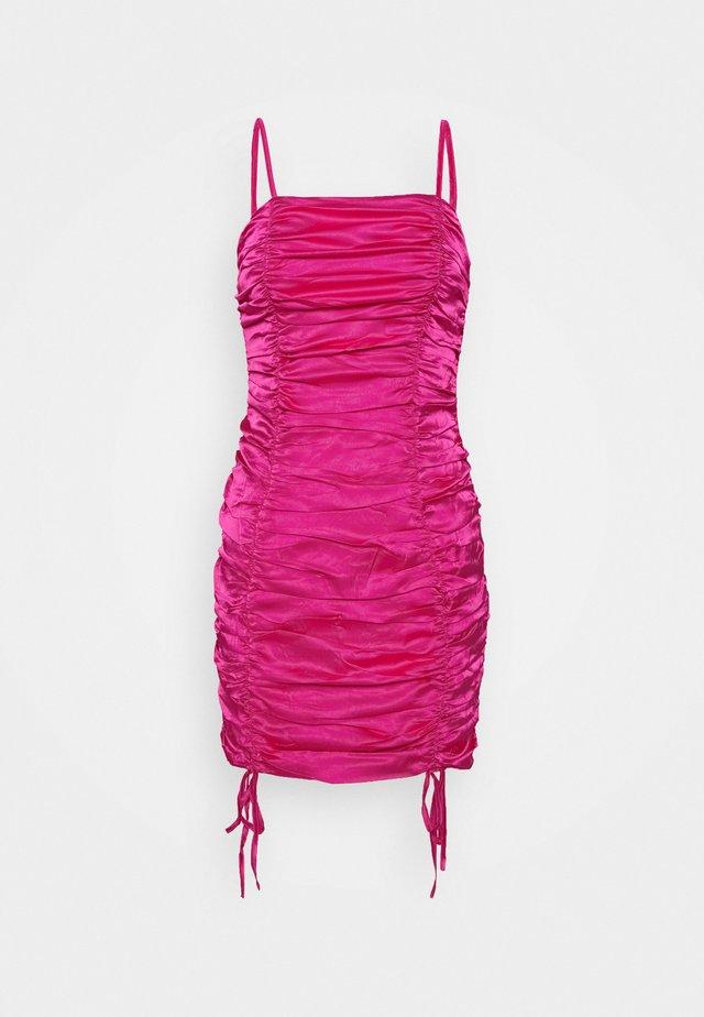 Vestito estivo - hot pink