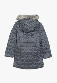 mothercare - OUT PADDED COAT QUILTED HEART  - Winter coat - grey - 1