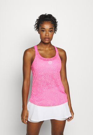 MAILA BURNOUT TECH TANK - Top - pink
