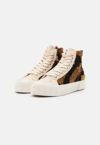 Good News - PALM MOROCCAN UNISEX - High-top trainers - oatmeal - 1