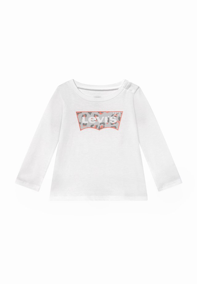 GRAPHIC - Long sleeved top - white