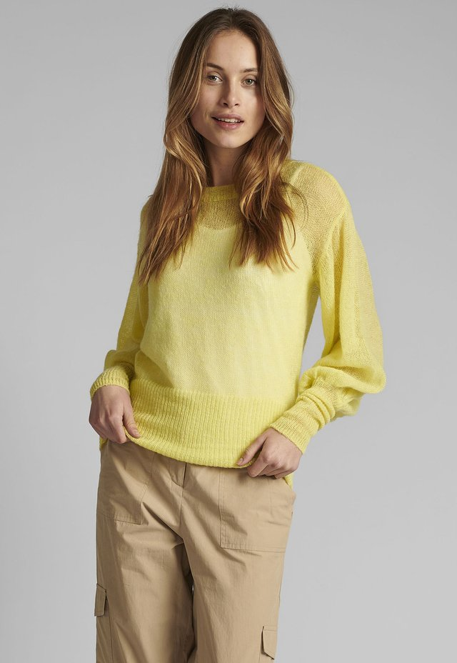 Pullover - sunny lime
