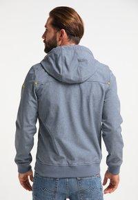 Schmuddelwedda - Waterproof jacket - dunkelmarine melange - 2