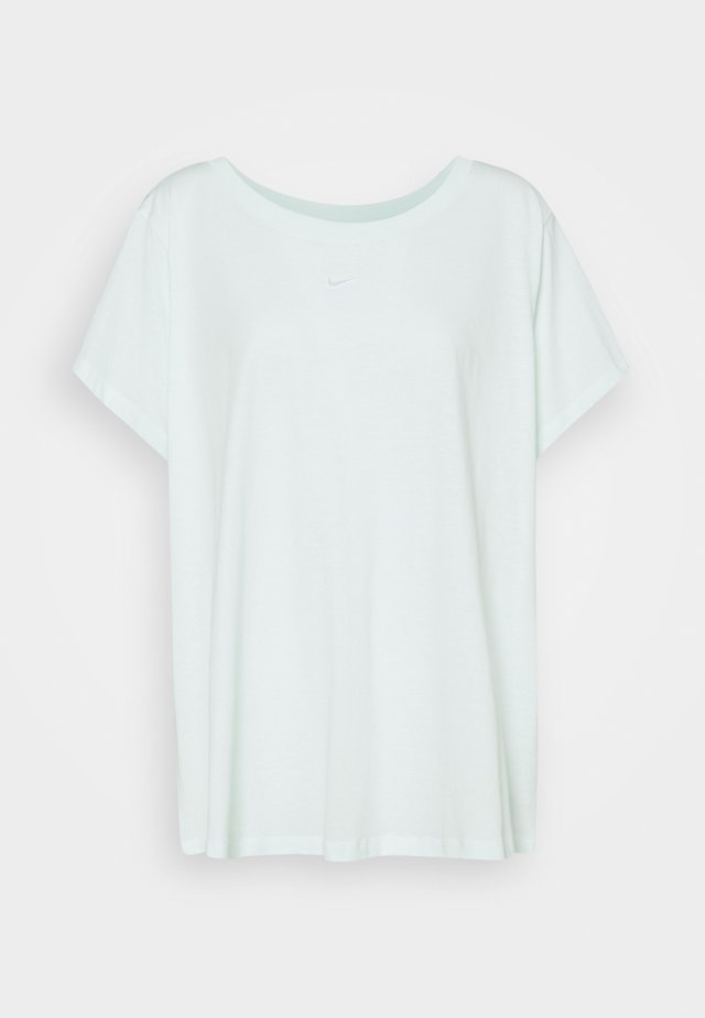 TEE PLUS - T-shirt basic - barely green/white