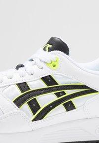 ASICS - GELSAGA - Sneakers - white/black - 5